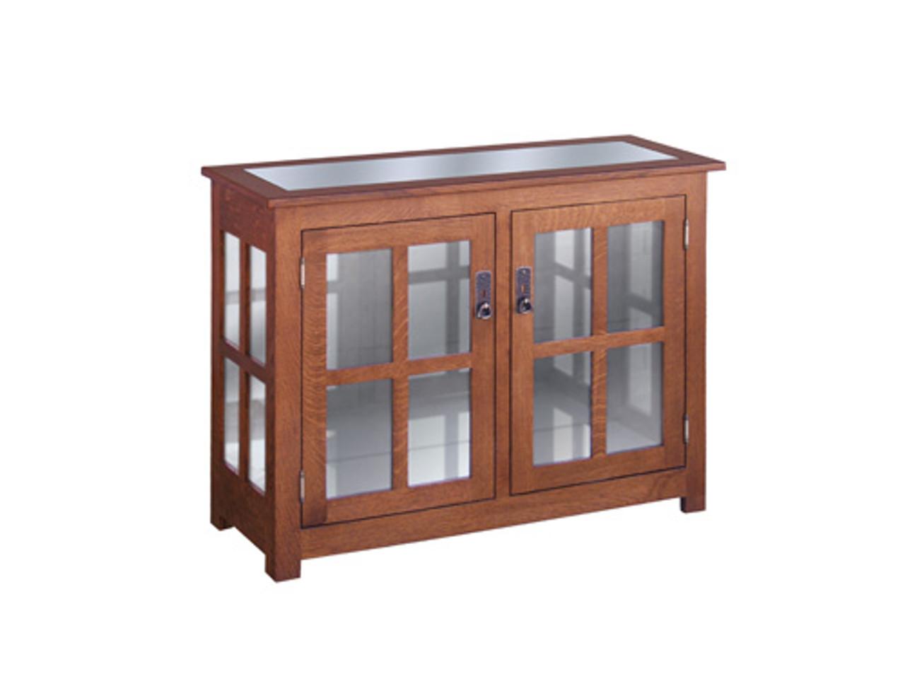 HC 2 Door Curio Cabinet