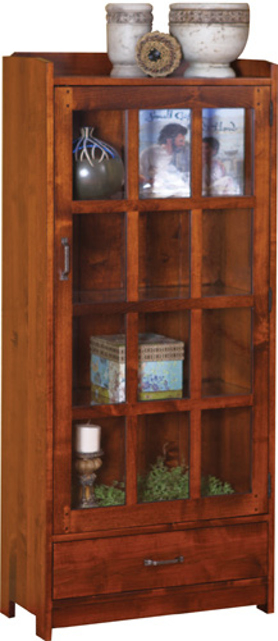 HC Bookcase 1 Door with Drawer