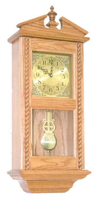 Rope Wall Windup Clock