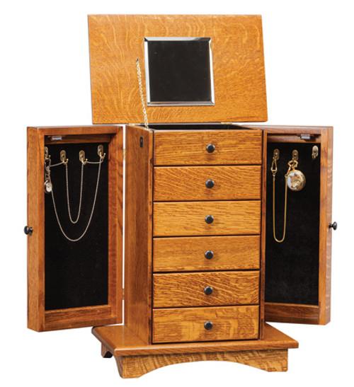 Shaker Jewelry Armoire
