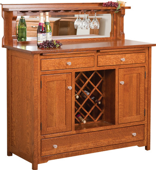 HC Buffet W/Wine Rack