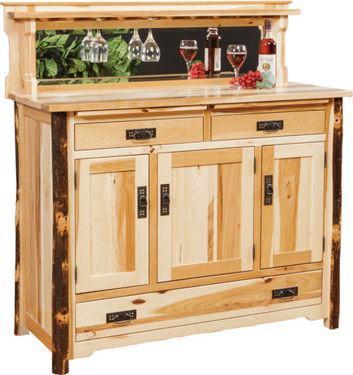 HC Buffet W/5 Bottle Pull out Drawer.