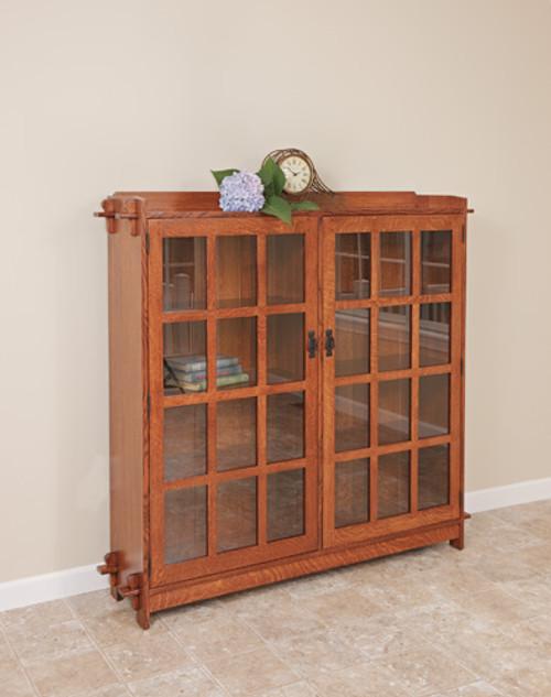 HC 2 Door Bookcase
