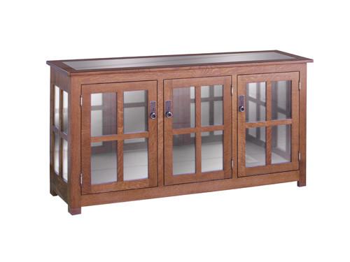 HC 3 Door Curio Cabinet