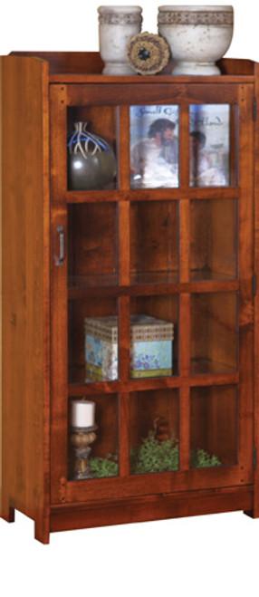 HC 1 Door Bookcase