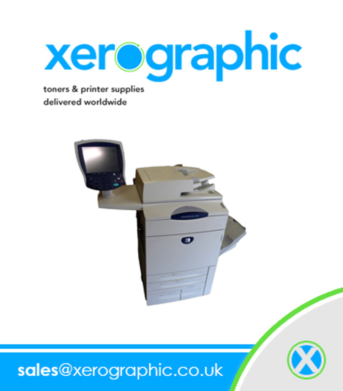Xerox DocuColor 240 Machine, Excellent Condition, Regularly Serviced With  1 9M on The Meter
