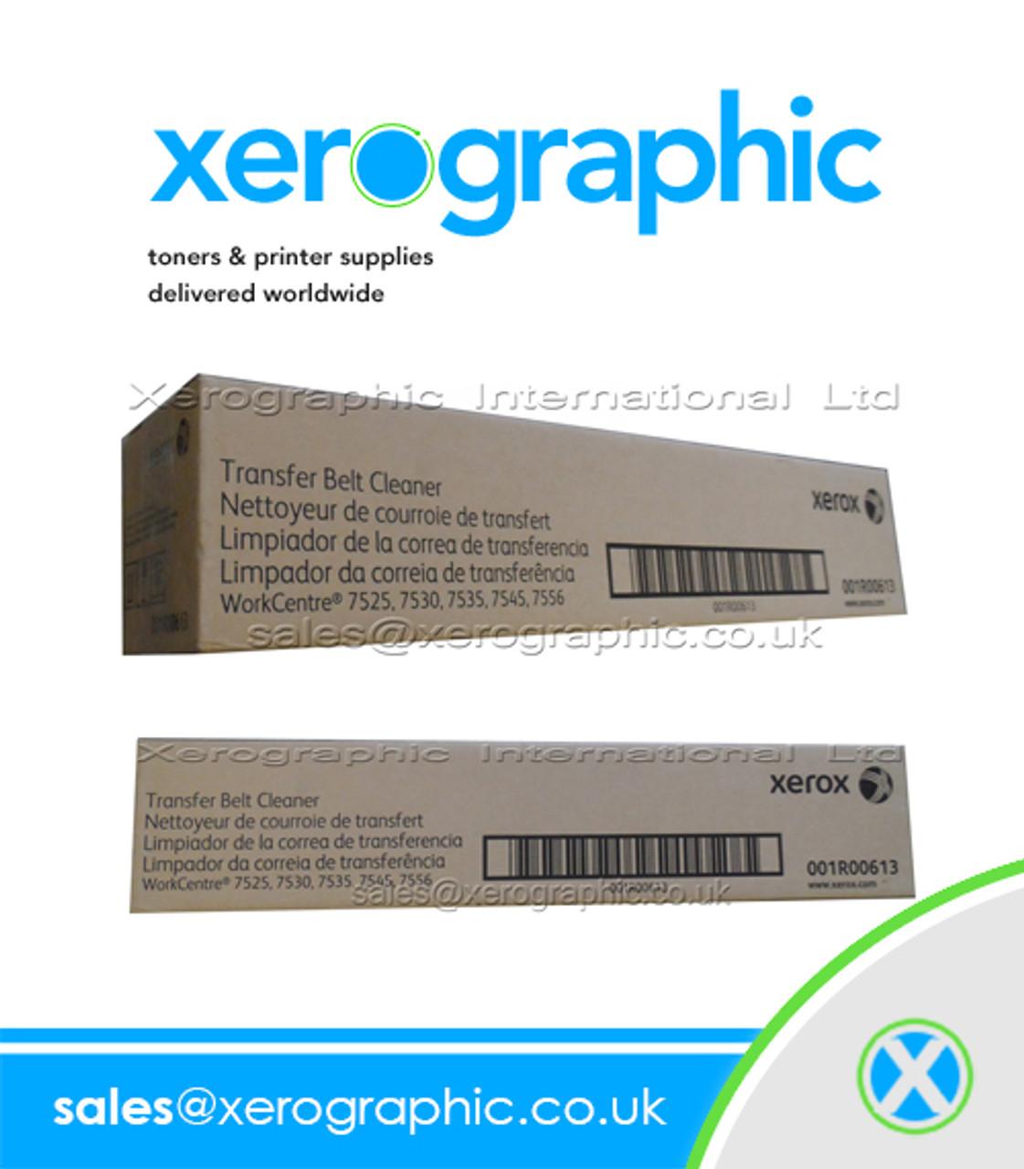 7835 7545 7535 7556 Xerox 001R00613 Transfer Belt Cleaner 7525 7530 7830