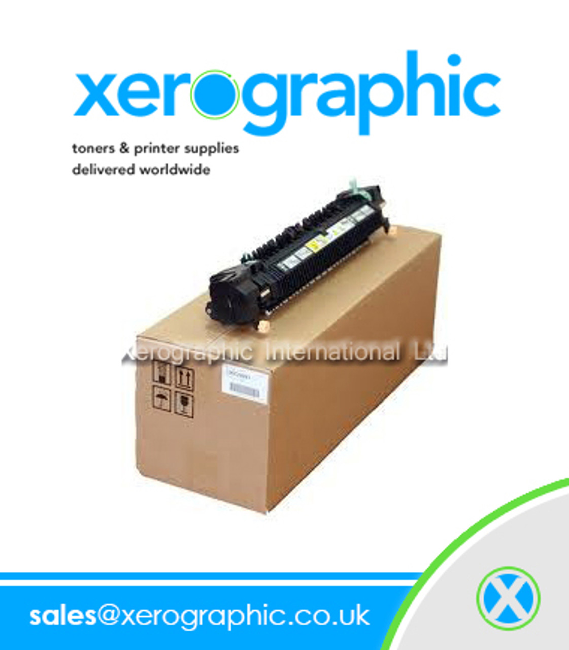 Xerox WorkCentre 7525 7530 7535 7830 7835 Genuine 220V Low Speed Fuser  Cartridge 604K62220, 641S00809, JP-126K34371, JP-126K28293, JP-126K28295