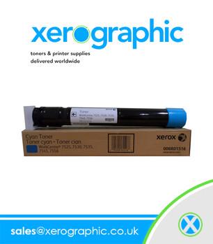 Xerox WorkCentre 7525 7530 7535 7545 7556 Genuine Cyan Toner 006R01516