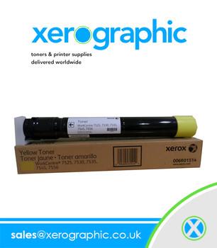 WorckCentre 7500 7830 7556 7970i Genuine Yellow Toner Cartridge 006R01514