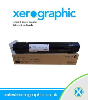 Xerox Genuine Black Toner Cartridge 006R01513, 6R1513