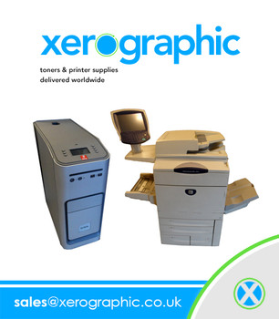 Xerox Docucolor 252 Professional Printing Machine Fantastic Condition    With External Fiery Controller With 868K on the Meter