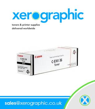 Canon Genuine Black Toner Cartridge C-EXV 36