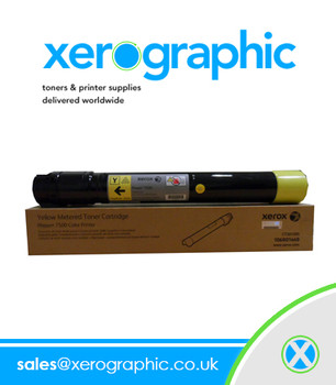 Xerox Genuine Yellow Toner Cartridge, WorkCentre 6605, Phaser 6600 106R02231