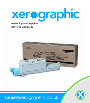 Xerox Original High-Capacity Cyan Toner Cartridge Phaser 6360 106R01218
