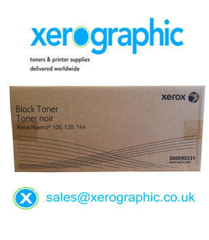 Xerox Nuvera Genuine Black Toner Cartridge 006R90331 For Nuvera 100 120 144