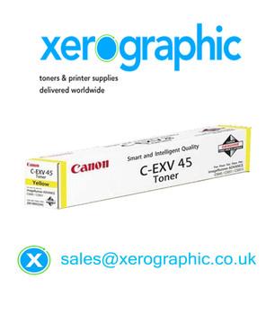 Genuine Canon C-EXV 45 Yellow Toner Cartridge 6948B002AA
