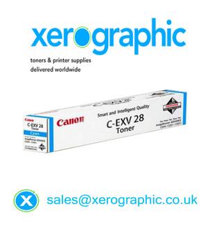 Genuine Canon IRD Cyan Cartridge C - EXV 28 2793B002AB
