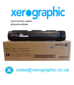 Xerox Versant 2100 /3100 Press Genuine Metered Black Toner Cartridge 006R01626