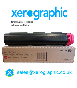 Xerox Versant 2100 / 3100 Press Genuine Metered Magenta Toner Cartridge 006R01628