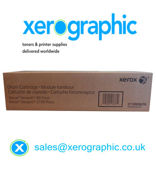 Xerox Versant 80, 2100, 3100, Press Genuine Drum Cartridge 013R00674 013R00676 13R674 13R676