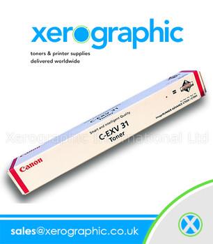 Canon C7055 / C7065 Genuine Magenta Toner cartridge C-EXV 31 2800B002(AA)