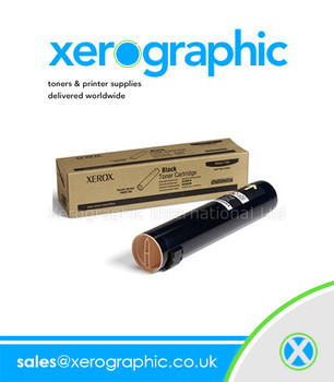 Xerox Phaser 7760 Genuine Black Toner  Cartridge 106R01163
