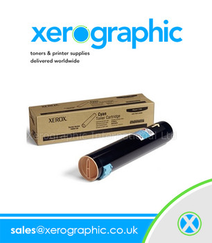 Xerox Phaser 7760 Genuine H/Capacity Cyan Toner  Cartridge 106R01160