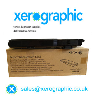 Xerox VersaLink C400, C405, Genuine Black Metered Toner Cartridge 106R02751