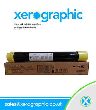 Xerox Genuine Standard Yellow Toner Cartridge, WorkCentre 6605, Phaser 6600 106R02247