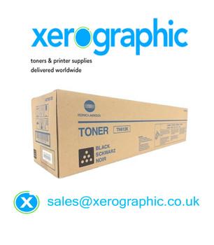 Genuine Konica Minolta Black Toner Cartridge Bizhub C452 C552 C652 TN613K (A0TM150) TN-613K
