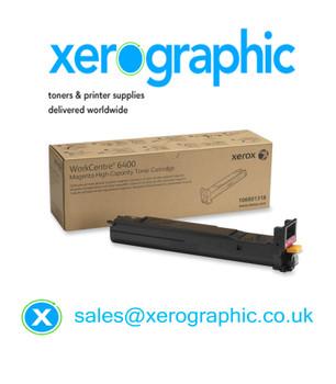 Xerox WorkCentre 6400 Magenta High-capacity Toner Cartridge 106R01318