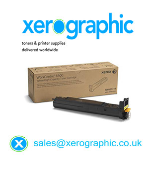 Xerox 6400 Genine Yellow High-capacity Toner Cartridge 106R01319