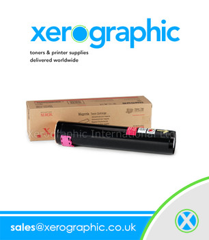 Xerox Color Printer Phaser 7750 Magenta Toner Cartridge - 106R00654 106R654