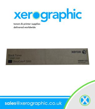 Xerox DocuColor DC 5000, Genuine Black Toner Cartridge  006R01251 6R01251 6R1251