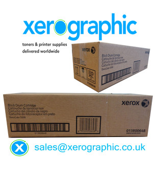 Xerox DocuColor 5000 Genuine Black Drum Cartridge  013R00648 13R648 013R00617 13R00617 13R617