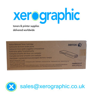 Xerox VersaLink C400 C405 Genuine Page Pack Yellow Toner Cartridge 106R03537