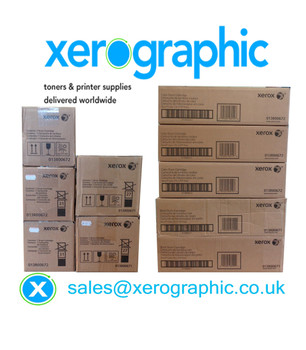 Xerox CYMKK Drum Cartridges 013R00672 013R00656 013R00671 013R00655 Xerox Color Press J75 C75  Xerox Digital Press 700 770 700i
