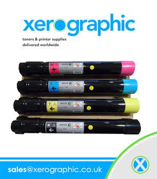 Xerox Supplies 7525, 7530, 7535, 7545, 7556, Genuine CMYK Metered Toner Cartridge 006R01509, 006R01510, 006R01511, 006R01512