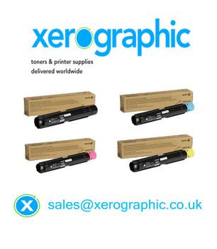 Xerox VersaLink C7000, CYMK Genuine Toner Cartridge 106R03757, 106R03758, 106R03759, 106R03760