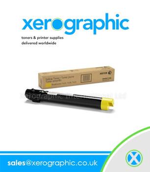 Xerox Versalink C7020, C7025, C7030, Genuine Metered Yellow Toner Cartridge 106R03734