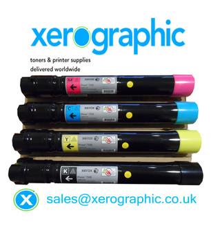 Xerox VersaLink C7020, C7025, C7030, Genuine CYMK Toner Cartridge 106R03737, 106R03738, 106R03739, 106R03740
