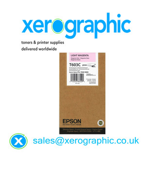 Epson Genuine Light Magenta 220ml Ink T603C, C13T603C00