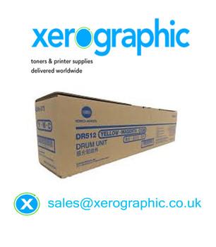 Konica Minolta Bizhub C224, C284, C364, C454, C554 Genuine CYM Colour Drum Cartridge A2XNOTD, DR512, DR-512