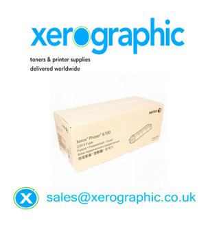 Xerox Phaser 6700 Genuine (220V) Smart Fuser Kit, 126K32230