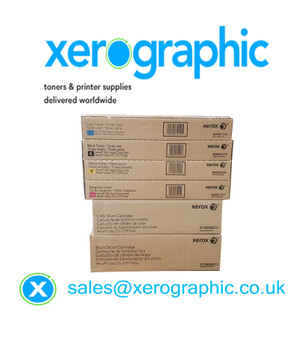 Xerox DCP 700, 700i, Xerox J75, C75, Press, Genuine CMYK Drum & Toners Cartridge 006R01375/6/7/8, 013R00672, 013R00671