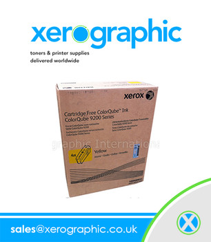 Xerox ColorQube 9201/ 9303 Genuine Sold Yellow Wax Ink -108R00839 (Capacity 37,000 Pages)