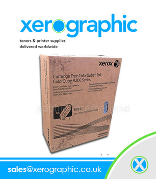 Xerox ColorQube 9200 9300 Series Genuine DMO Black Wax Ink 108R00840, 108R840