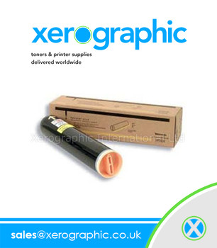 Xerox Genuine New Yellow Toner Cartridge Xerox Phaser 7750 106R00655 106R655