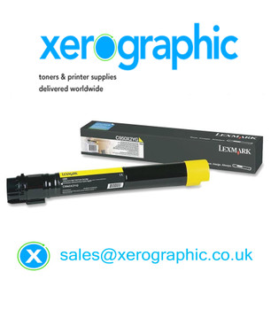 Lexmark C950 Genuine Extra High Capacity Yellow Toner Cartridge - (C950X2YG)